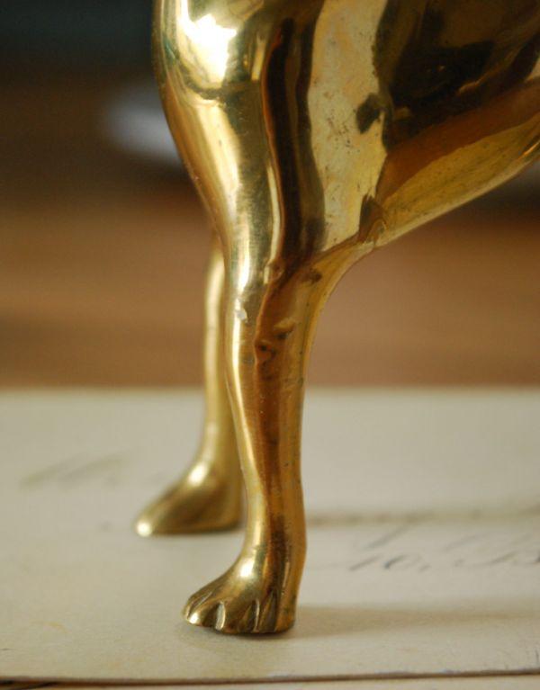 k-1540-z 真鍮製アンティークオブジェの脚