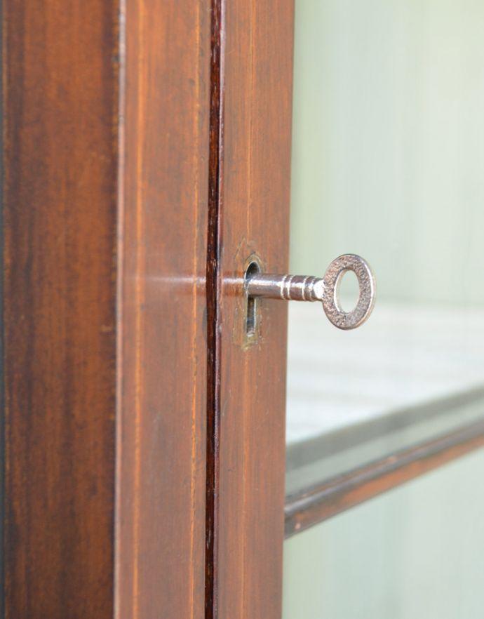 k-1550k-f アンティークガラスキャビネットの鍵