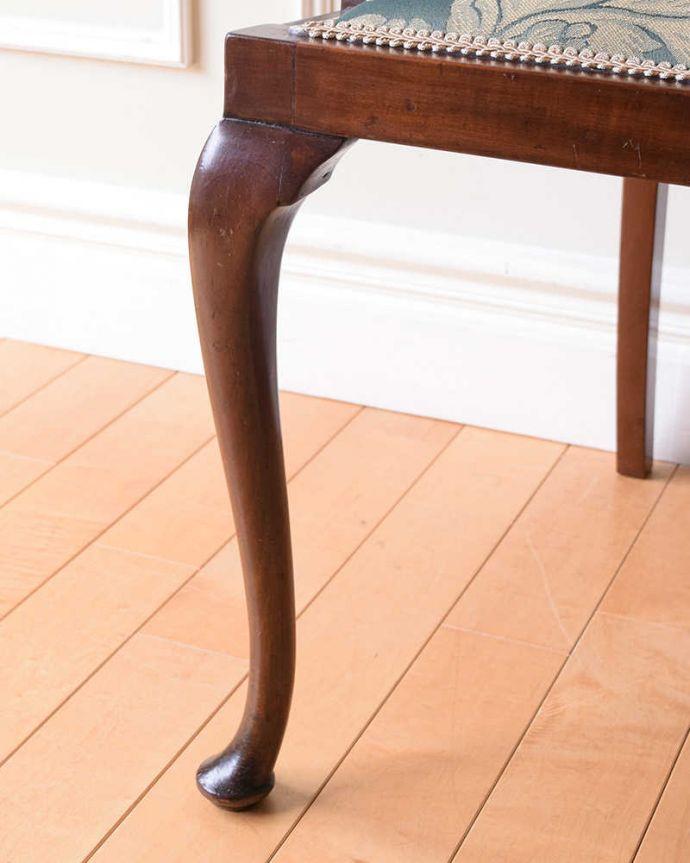 k-1551-c アンティークサロンアームチェアの脚