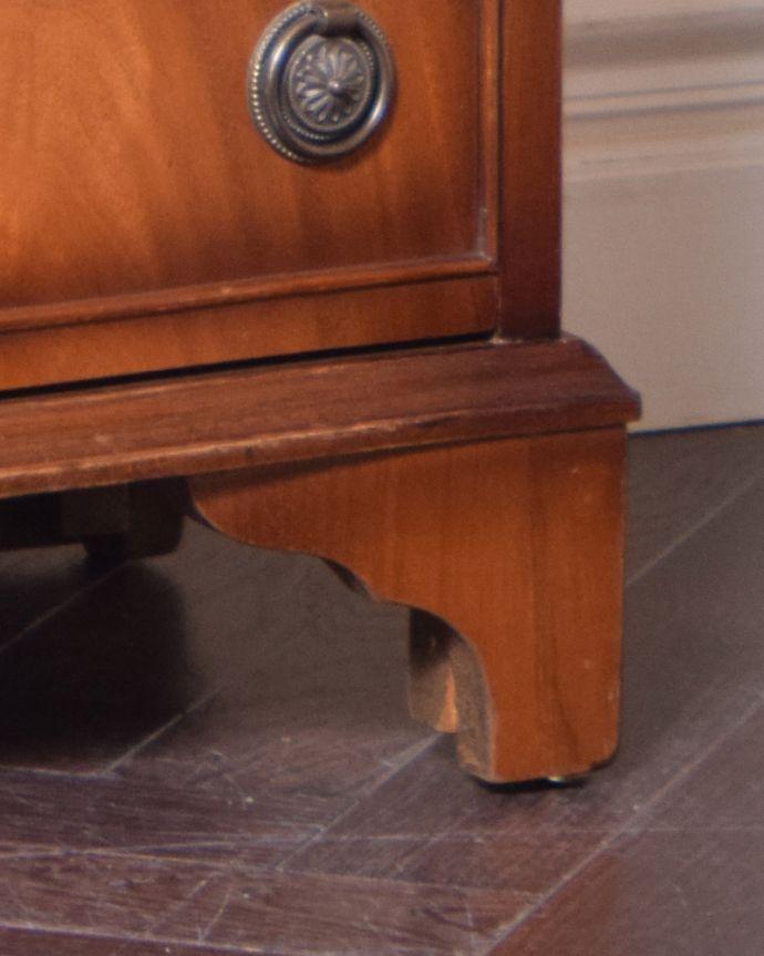 k-1582-f アンティークサイドチェストの脚