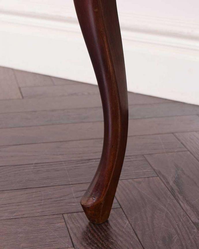 k-1586-c アンティークサロンチェアの脚