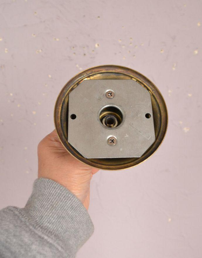 シャンデリア 照明・ライティング 高級感溢れる真鍮製シャンデリア、フランス輸入のアンティーク照明(5灯)(E17シャンデリア球付)。直結するタイプです。(k-1595-z)