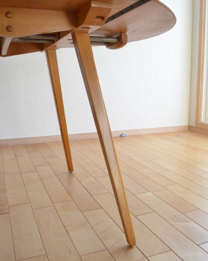 k-1640-f アンティークダイニングテーブルの脚
