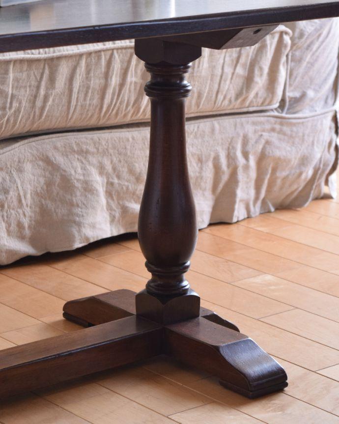 k-1641-f アンティークコーヒーテーブルの脚