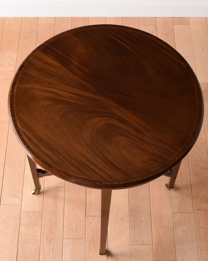 k-1645-f アンティークオケージョナルテーブルの天板