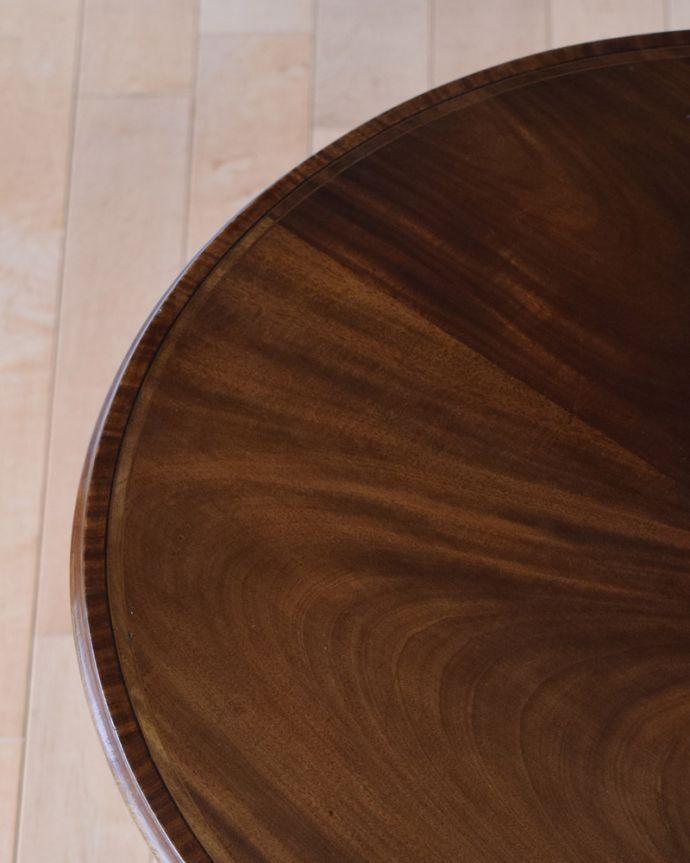k-1645-f アンティークオケージョナルテーブルの縁