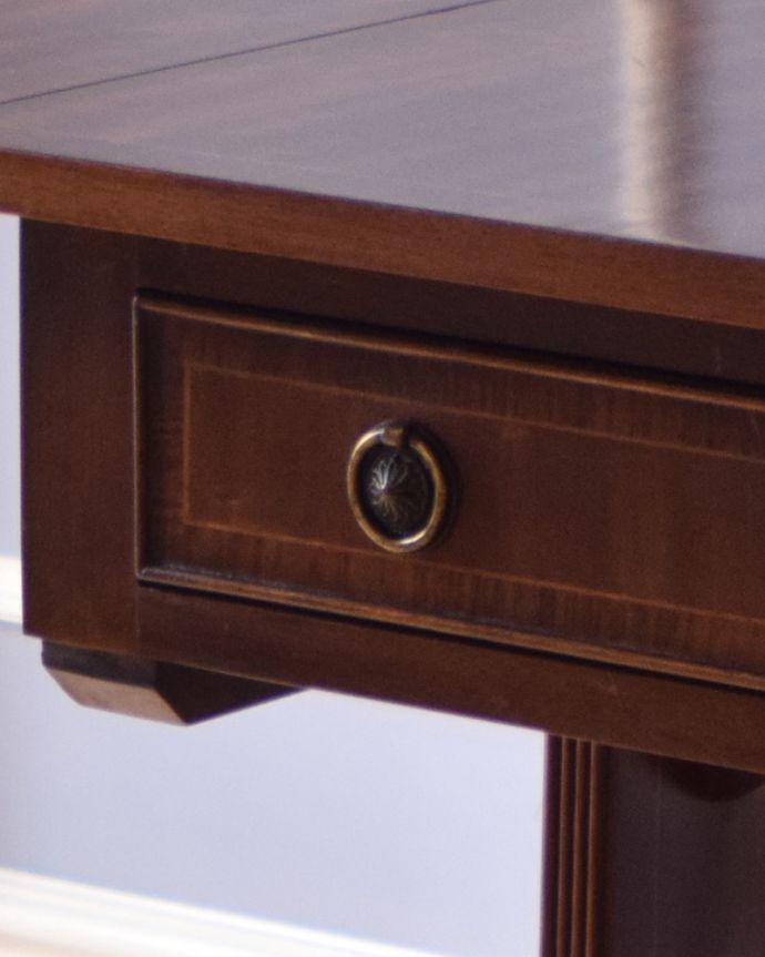 k-1646-f アンティークバタフライテーブルの取っ手
