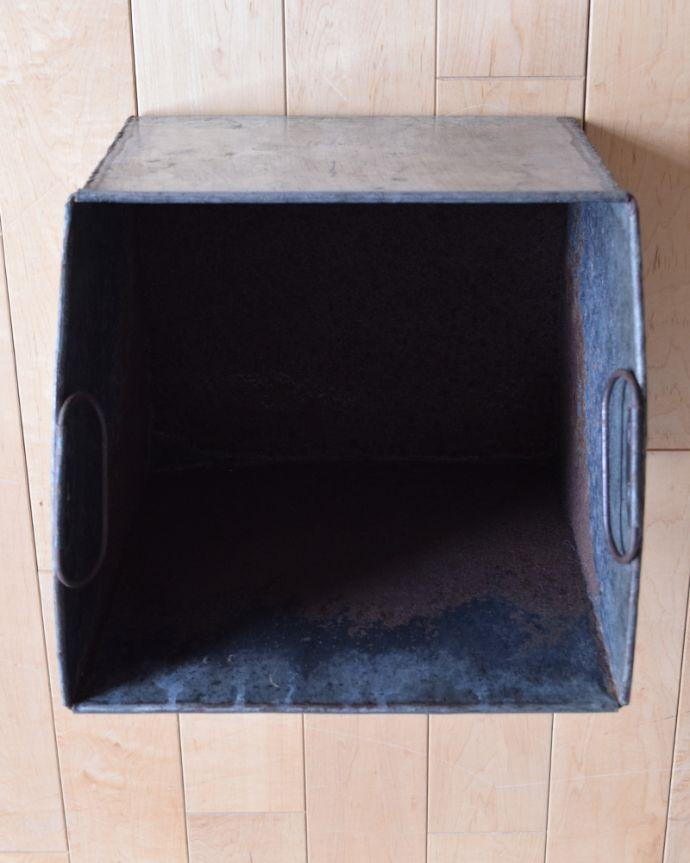 k-1648-f アンティークマガジンラック 木製の収納 のボックス