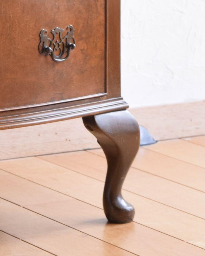 k-1655-f アンティークチェストの脚