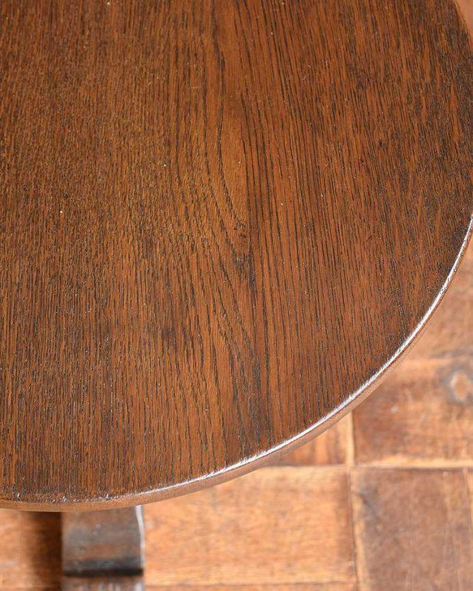 k-1664-f アンティークオケージョナルテーブルの縁