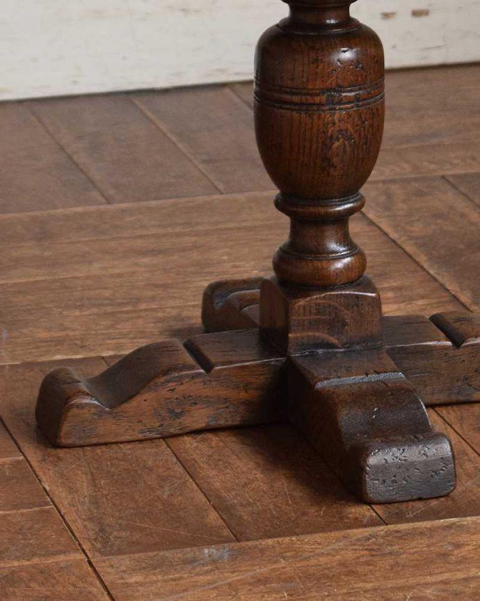 k-1664-f アンティークオケージョナルテーブルの脚