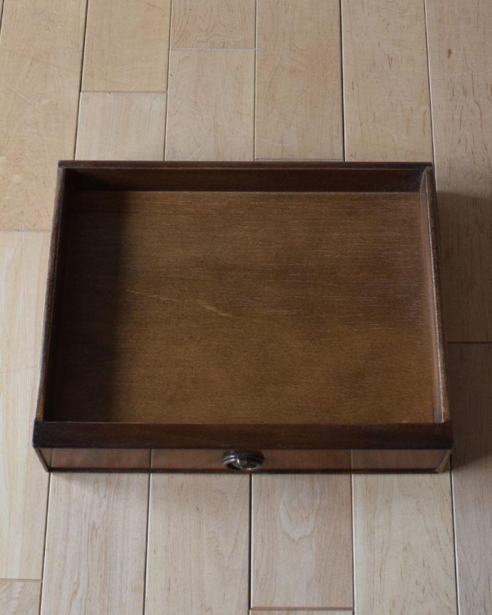 k-1672-f アンティークナイトテーブルの引き出し