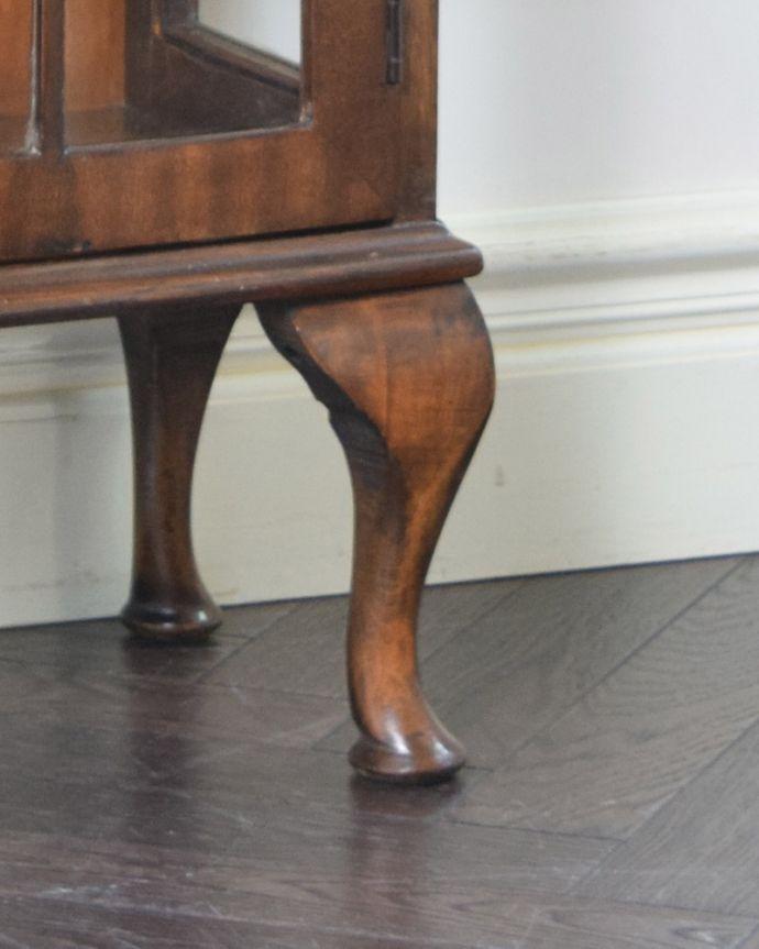 k-1674-f アンティークガラスキャビネットの脚
