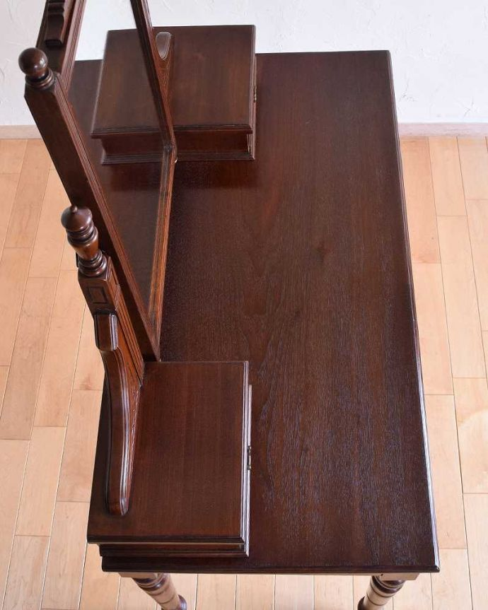 -1682-f アンティークドレッシングテーブル(デスク)の天板