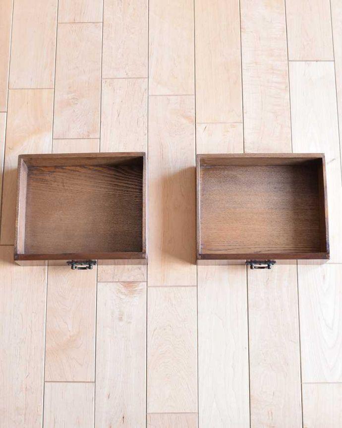 -1682-f アンティークドレッシングテーブル(デスク)の小さい引き出し