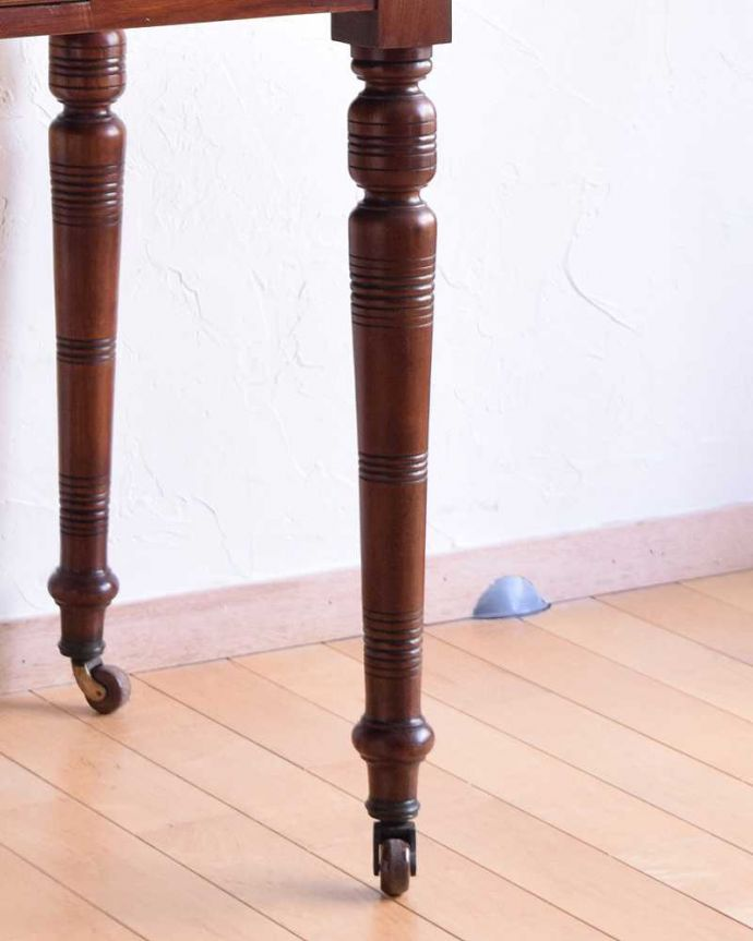 -1682-f アンティークドレッシングテーブル(デスク)の脚