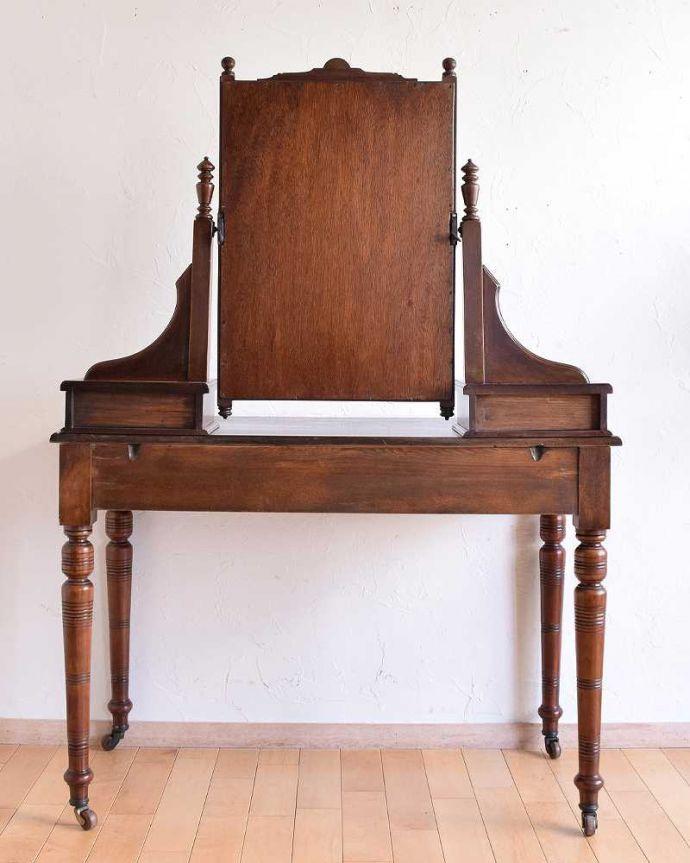 -1682-f アンティークドレッシングテーブル(デスク)の裏