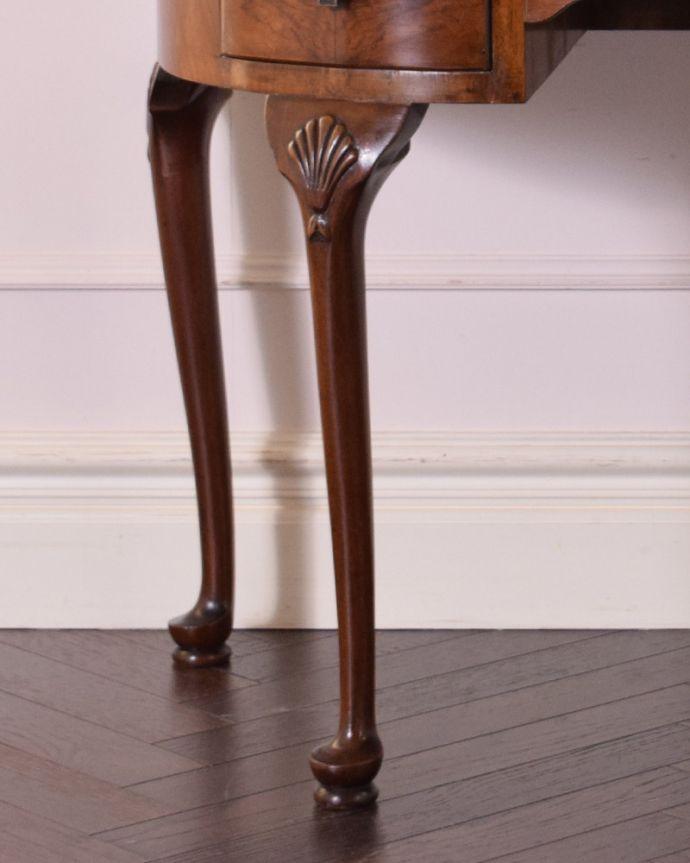 k-1687-f アンティークデスクの脚