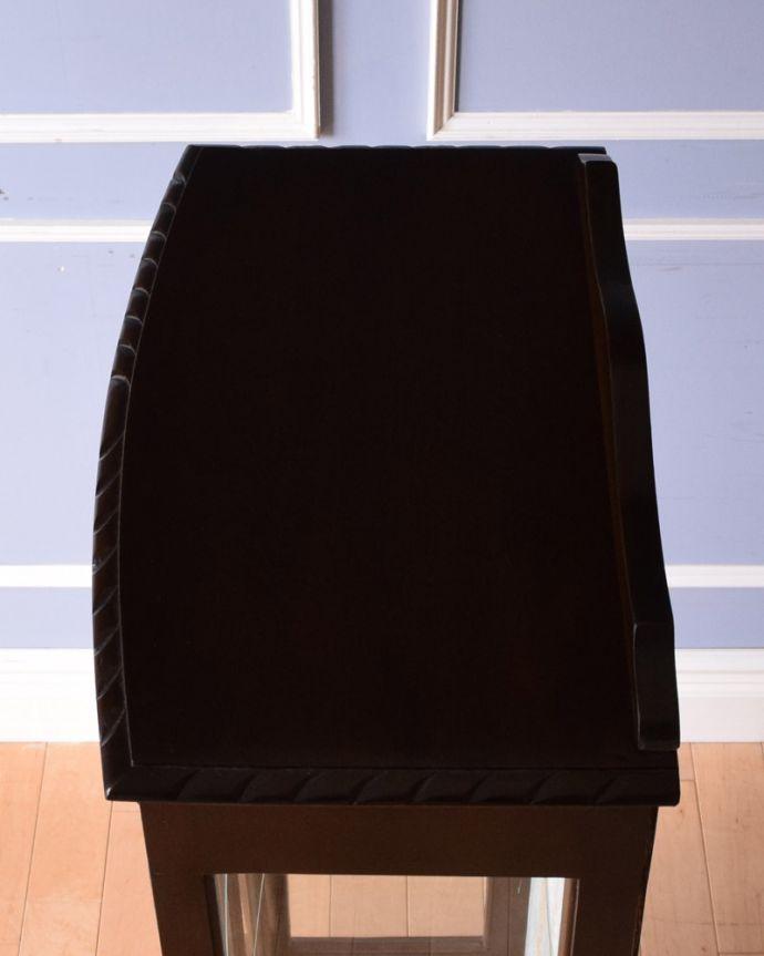 k-1693-f アンティークガラスキャビネットの天板