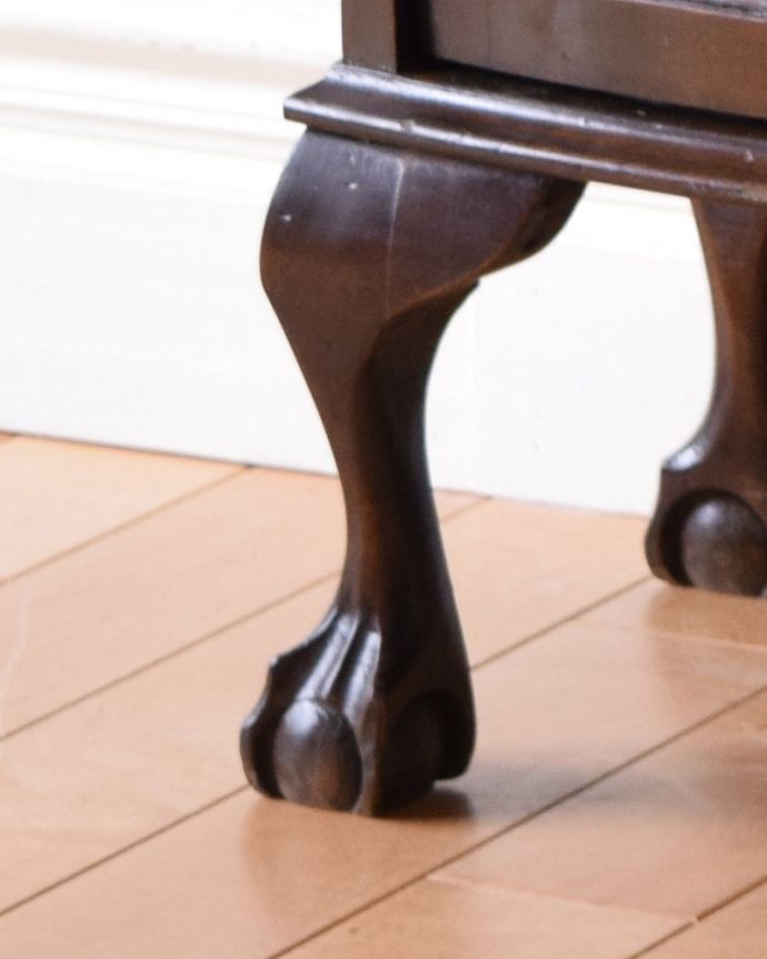 k-1693-f アンティークガラスキャビネットの脚