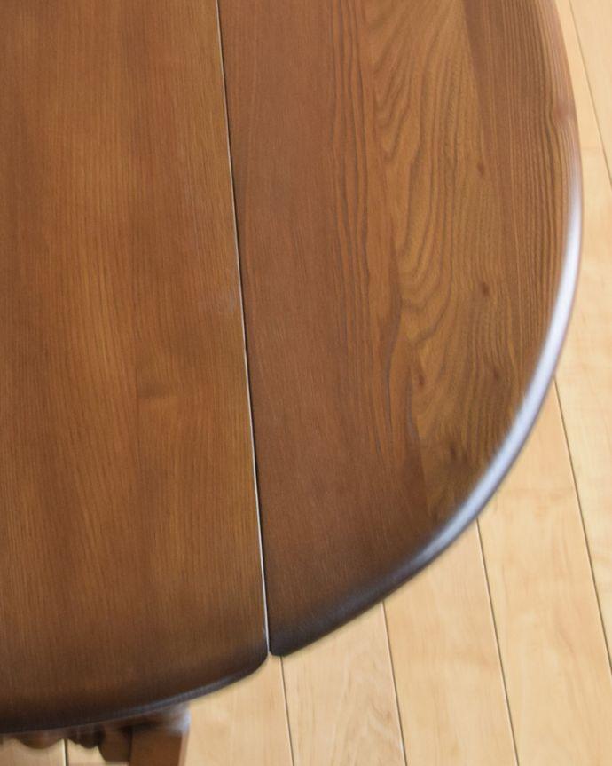 k-1697-f アンティークゲートレッグコーヒーテーブルの角