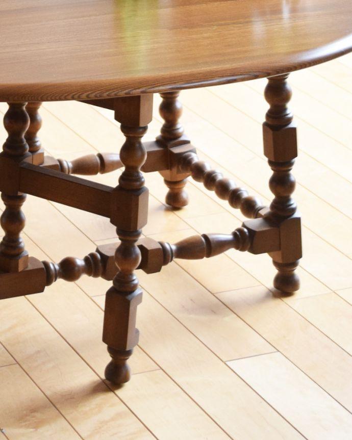k-1697-f アンティークゲートレッグコーヒーテーブルの脚