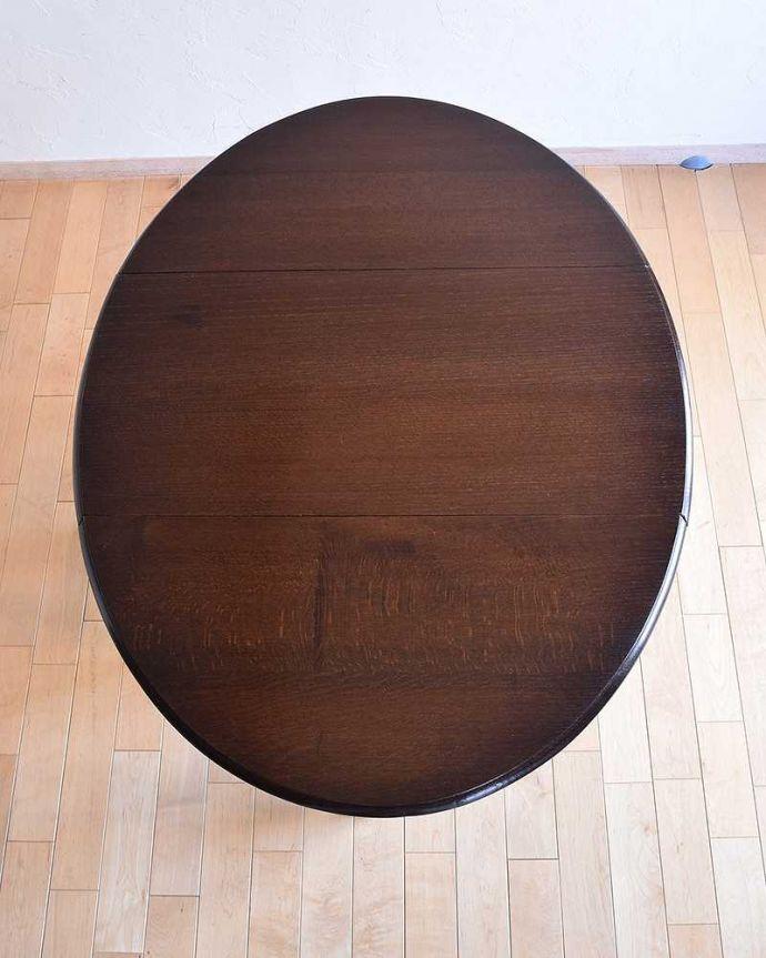 k-1705-f  アンティーク ゲートレッグテーブルの天板