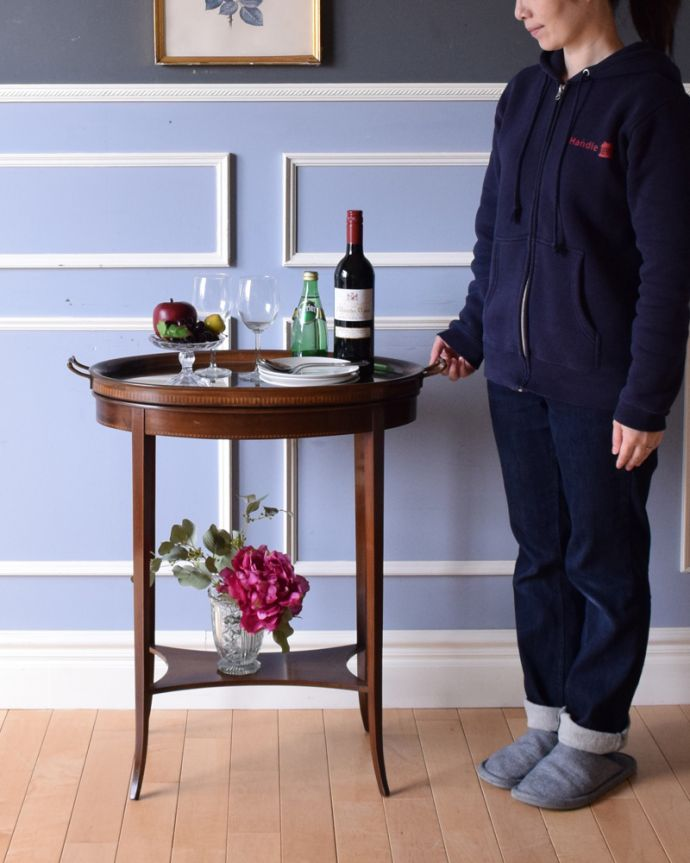 k-1715-f アンティーク家具、オケージョナルテーブル、テーブル、サイドテーブル、花台、英国、英国家具、小さいテーブル
