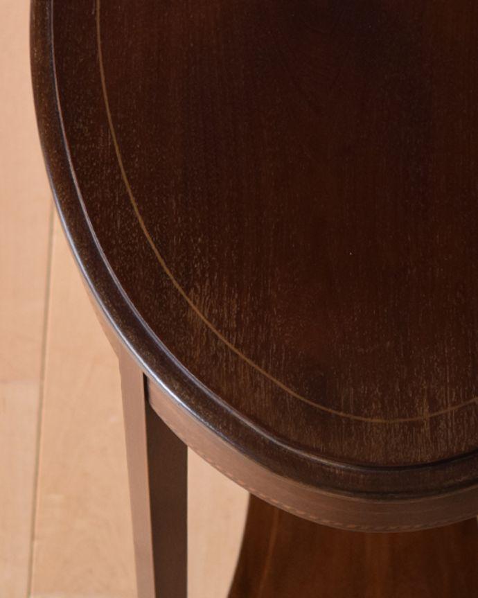 k-1715-f アンティークオケージョナルテーブルの角