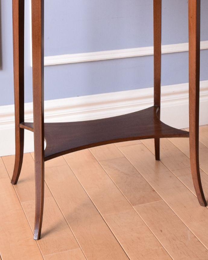 k-1715-f アンティークオケージョナルテーブルの棚