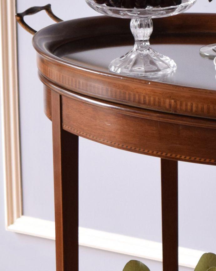 k-1715-f アンティークオケージョナルテーブルの装飾