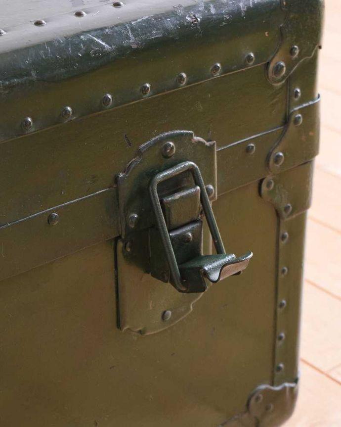 k-1731-f 英国輸入のアンティークトランクケースの金具