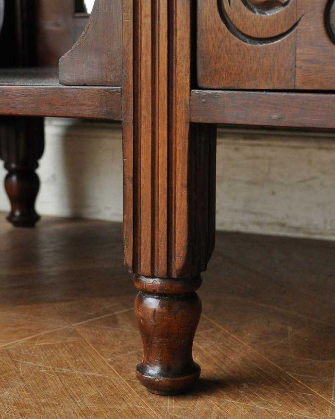 k-1744-f アンティークキャビネットの脚