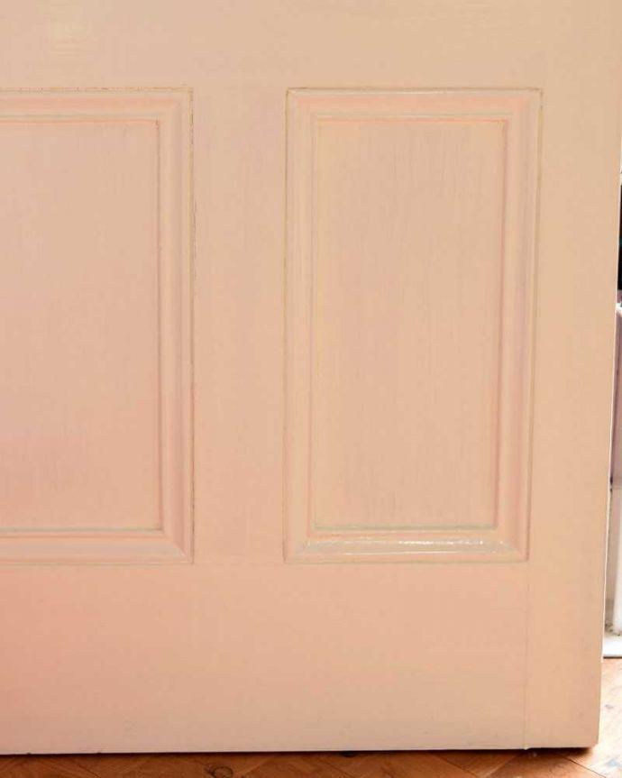 k-1745-f アンティークステンドグラス入りドアの脚元