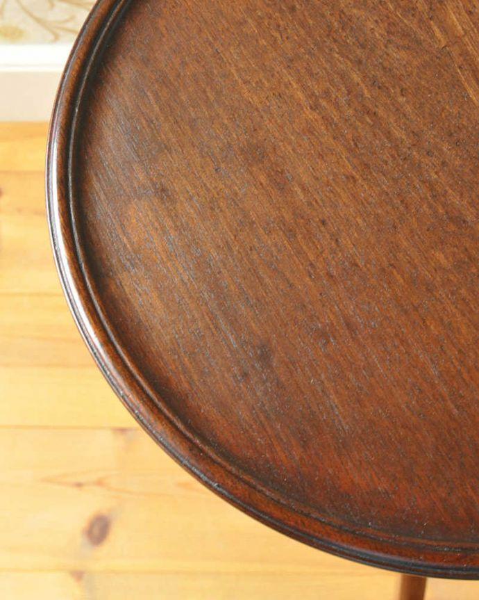 k-1749-f  アンティークワインテーブルの天板ズーム