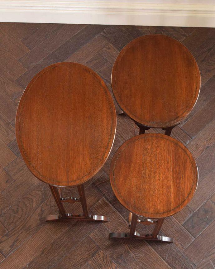 k-1750-f アンティークネストテーブルの天板