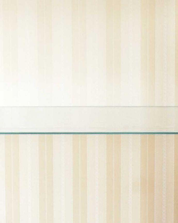 k-1772-f アンティークガラスキャビネットの生地