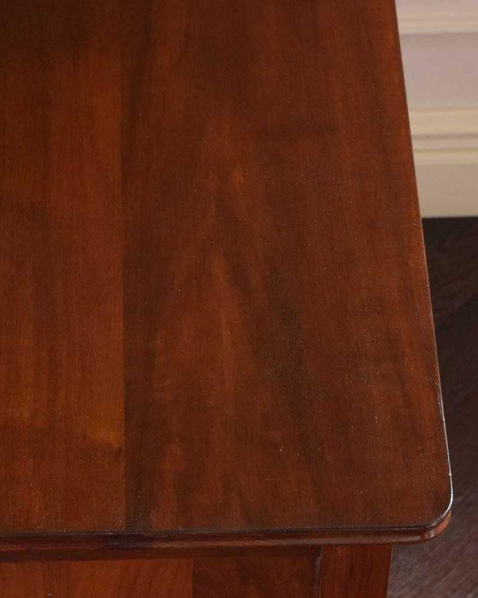 k-1778-f アンティークドレッシングテーブルの天板のズーム