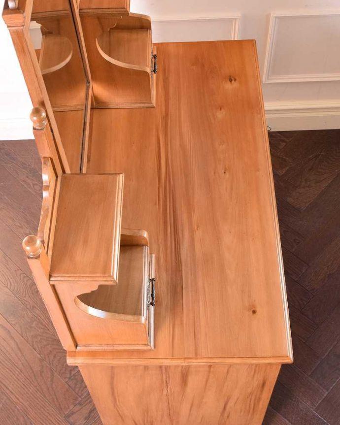 k-1814-f アンティークドレッシングテーブルの天板