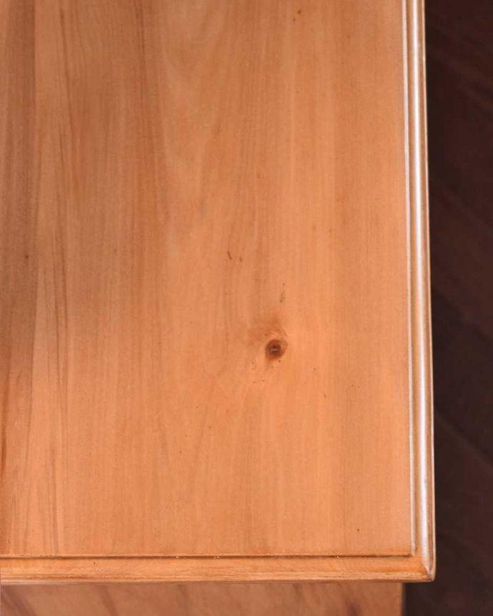 k-1814-f アンティークドレッシングテーブルの天板のズーム
