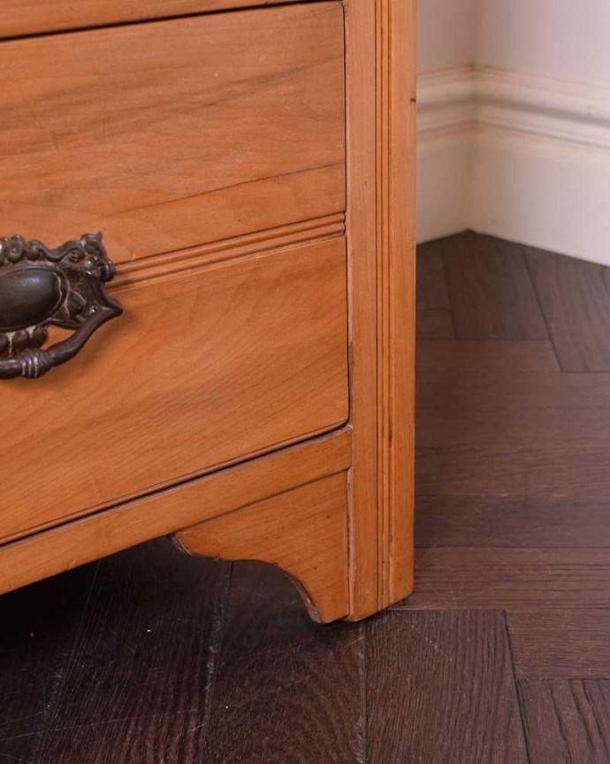 k-1814-f アンティークドレッシングテーブルの脚
