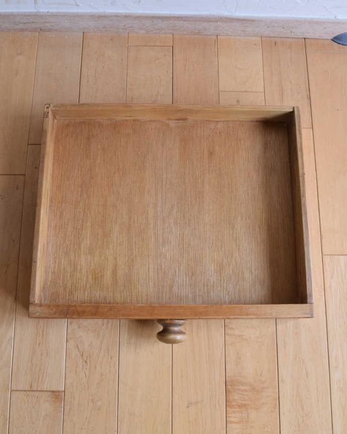 k-1831-f  アンティークリフェクトリーテーブルの引き出し