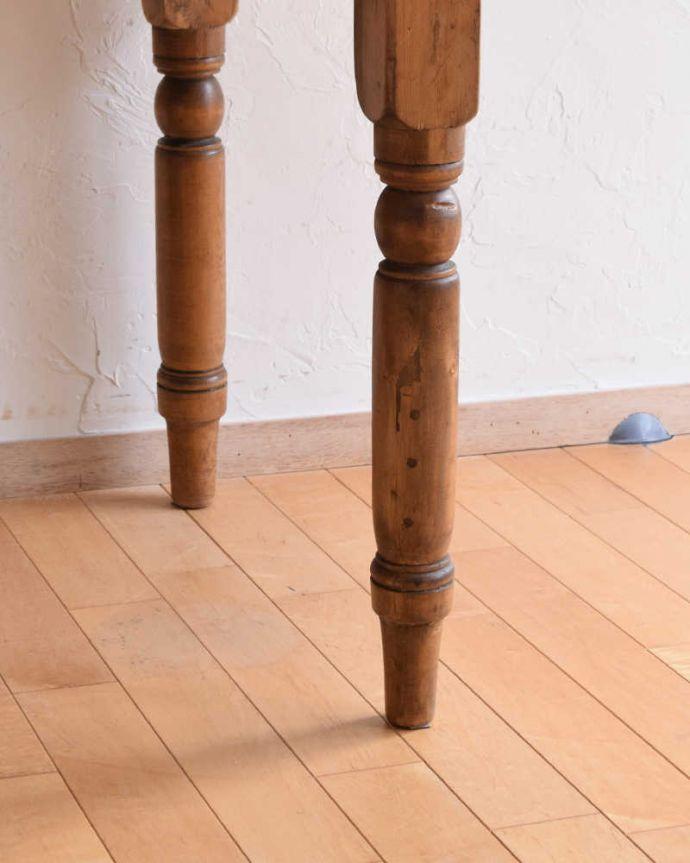 k-1831-f  アンティークリフェクトリーテーブルの脚