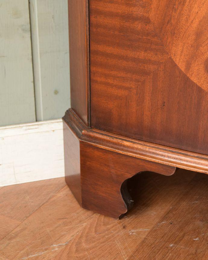 k-1841-f アンティークコーナーカップボードの脚