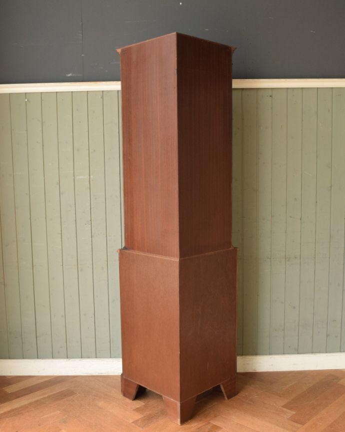 k-1841-f アンティークコーナーカップボードの後ろ