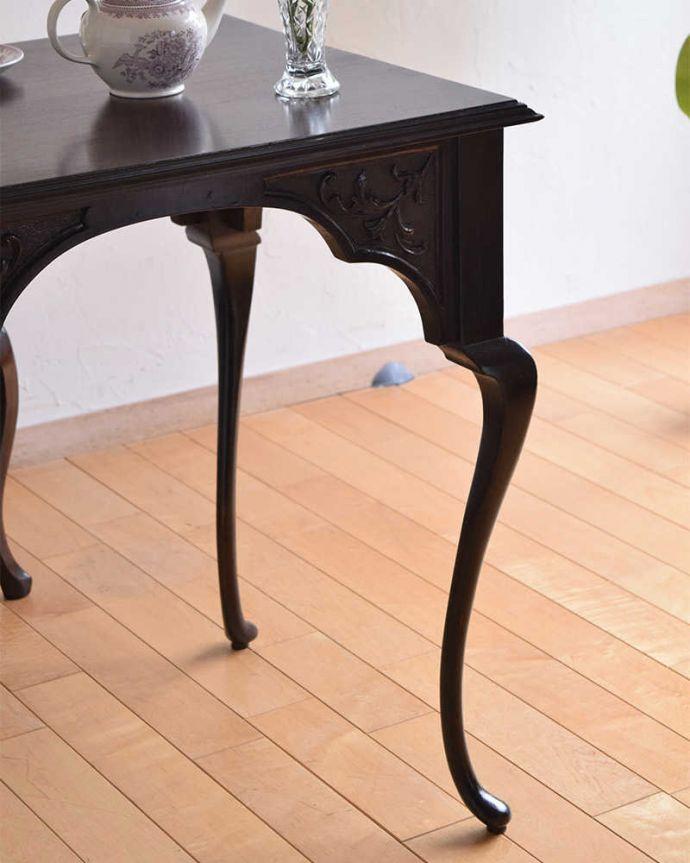 k-1849-f アンティークオケージョナルテーブルのアップ