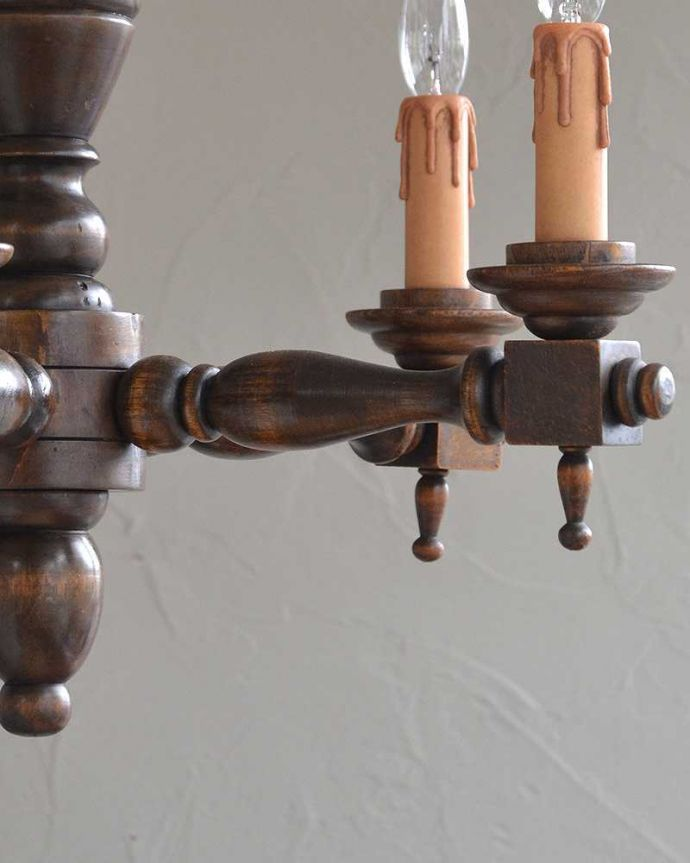 k-1867-z アンティーク シャンデリア(5灯)のガラスパーツ
