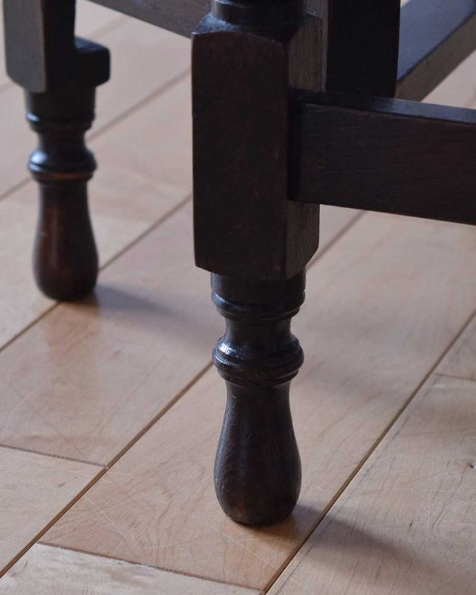 k-1868-f アンティークゲートレッグテーブルの脚