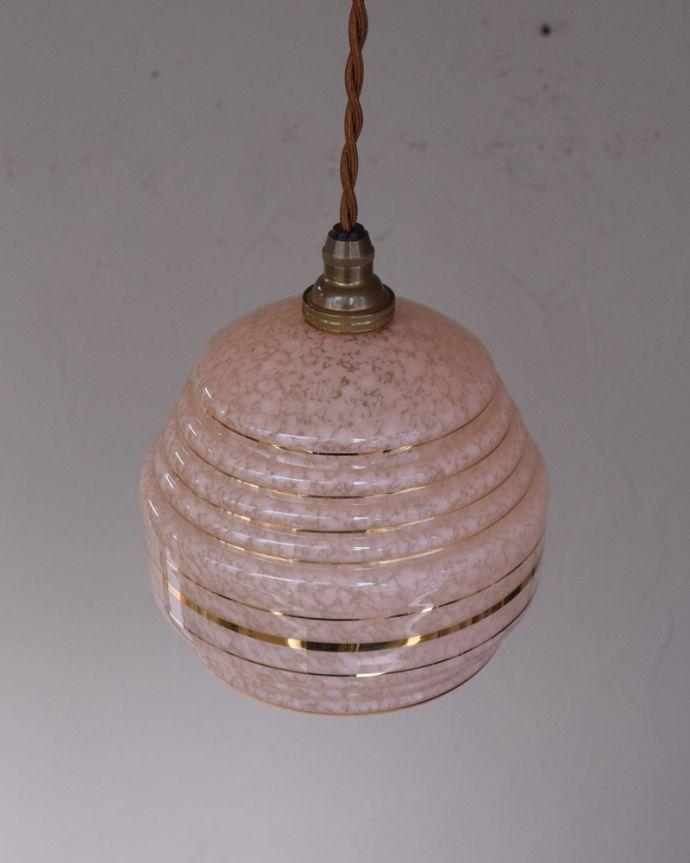 k-1879-z アンティークペンダントランプ(照明)の上から