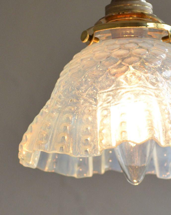 k-1886-z アンティークペンダントライトの点灯